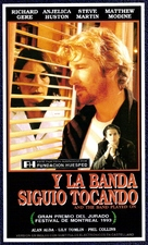 And the Band Played On - Argentinian Movie Poster (xs thumbnail)