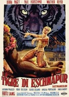 Der Tiger von Eschnapur - Italian Movie Poster (xs thumbnail)