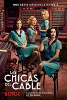 """""""Las chicas del cable"""" - French Movie Poster (xs thumbnail)"""