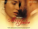 Miss Julie - British Movie Poster (xs thumbnail)