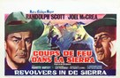 Ride the High Country - Belgian Movie Poster (xs thumbnail)