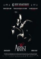 The Artist - Swedish Movie Poster (xs thumbnail)