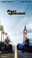Fast & Furious Presents: Hobbs & Shaw - Singaporean Movie Poster (xs thumbnail)
