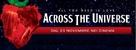 Across the Universe - Italian Movie Poster (xs thumbnail)