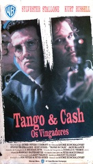 Tango And Cash - Brazilian VHS movie cover (xs thumbnail)
