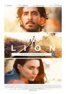Lion - Czech Movie Poster (xs thumbnail)