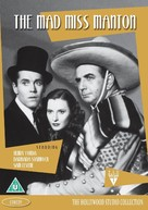 The Mad Miss Manton - British DVD cover (xs thumbnail)