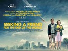 Seeking a Friend for the End of the World - British Movie Poster (xs thumbnail)