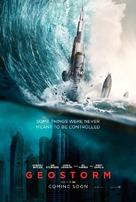 Geostorm - British Movie Poster (xs thumbnail)