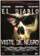 Let the Devil Wear Black - Spanish Movie Poster (xs thumbnail)