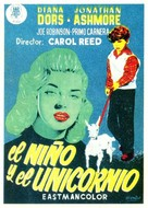 A Kid for Two Farthings - Spanish Movie Poster (xs thumbnail)