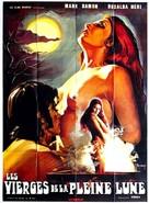 Il plenilunio delle vergini - French Movie Poster (xs thumbnail)