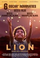 Lion - Dutch Movie Poster (xs thumbnail)