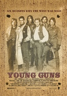 Young Guns - Movie Poster (xs thumbnail)