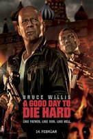 A Good Day to Die Hard - Icelandic Movie Poster (xs thumbnail)