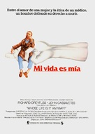 Whose Life Is It Anyway? - Spanish Movie Poster (xs thumbnail)
