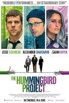 The Hummingbird Project - British Movie Poster (xs thumbnail)