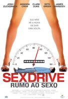 Sex Drive - Brazilian Movie Poster (xs thumbnail)