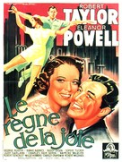 Broadway Melody of 1938 - French Movie Poster (xs thumbnail)