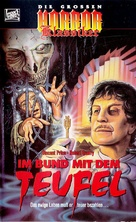 Dr. Phibes Rises Again - German VHS movie cover (xs thumbnail)