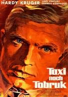 Un taxi pour Tobrouk - German Movie Poster (xs thumbnail)
