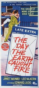 The Day the Earth Caught Fire - Australian Movie Poster (xs thumbnail)