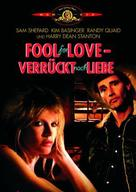 Fool for Love - German DVD cover (xs thumbnail)