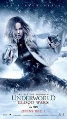 Underworld Blood Wars - Singaporean Movie Poster (xs thumbnail)