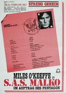 S.A.S. à San Salvador - German Movie Poster (xs thumbnail)