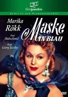 Maske in Blau - German DVD movie cover (xs thumbnail)