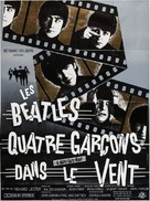 A Hard Day's Night - French Re-release poster (xs thumbnail)