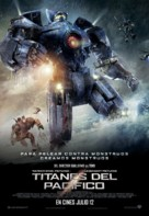 Pacific Rim - Colombian Movie Poster (xs thumbnail)