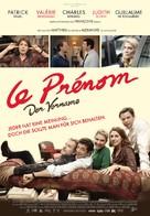Le prénom - Swiss Movie Poster (xs thumbnail)