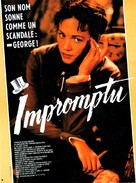 Impromptu - French Movie Poster (xs thumbnail)