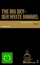 The Big Sky - German DVD cover (xs thumbnail)