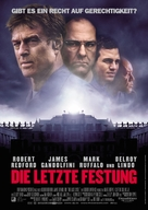 The Last Castle - German Movie Poster (xs thumbnail)