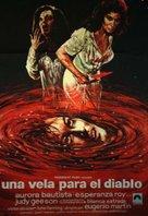 Una vela para el diablo - Spanish Movie Poster (xs thumbnail)