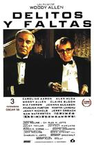 Crimes and Misdemeanors - Spanish Movie Poster (xs thumbnail)