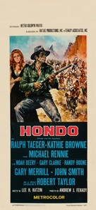 Hondo and the Apaches - Italian Movie Poster (xs thumbnail)