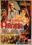 Action in Arabia - Italian Movie Poster (xs thumbnail)