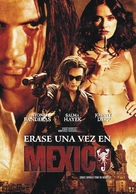 Once Upon A Time In Mexico - Argentinian Movie Poster (xs thumbnail)