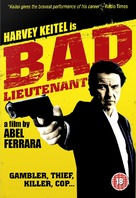Bad Lieutenant - British DVD movie cover (xs thumbnail)