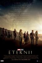 Eternals - Romanian Movie Poster (xs thumbnail)
