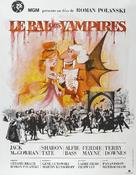 Dance of the Vampires - French Movie Poster (xs thumbnail)