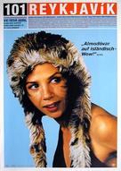 101 Reykjavík - German Movie Poster (xs thumbnail)