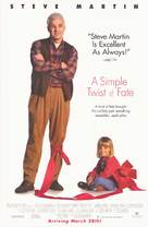 A Simple Twist of Fate - Movie Poster (xs thumbnail)