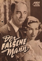 The Wrong Man - German poster (xs thumbnail)