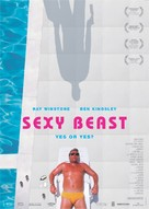 Sexy Beast - German Movie Poster (xs thumbnail)