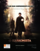 The Illusionist - Brazilian Movie Poster (xs thumbnail)