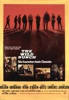 The Wild Bunch - German Movie Poster (xs thumbnail)